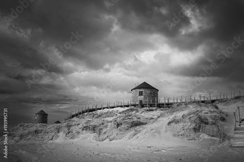 Poster Molens Sand dune mills