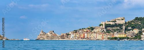 Photo sur Aluminium Ligurie Liguria Italy - Cityscape of Porto Venere or Portovenere