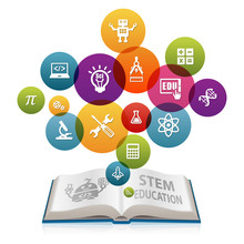 STEM Education Concept With Op...