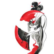 Geisha, Women In Traditional C...