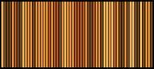 Orange Stripes Bars Design Bac...