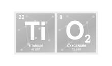 Vector Symbol Of Titanium Diox...