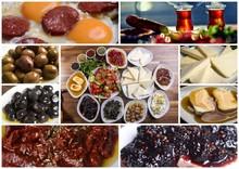 Turkish Breakfast Collage