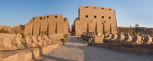 Golden Karnak Temple, The Ruins Of The Temple