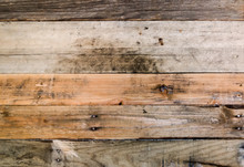 Rustic Rough Textured Wood Background.  Colorful Weathered Pallet Wood Wall. Excellent Background Or Backdrop.