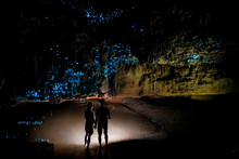 Couple Under New Zealand Glow ...