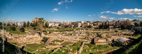 Recess Fitting Ruins Kerameikos, Ancient Cemetary of Athens, Greece