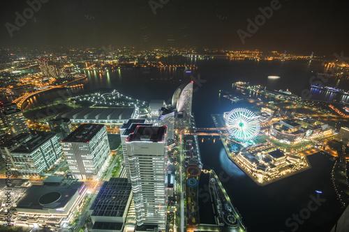 Fototapeta Wieża widokowa, Yokohama Japan, Minato Mirai