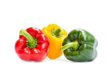 Sweet Bell Pepper Isolated On ...