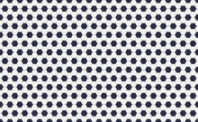 Seamless Pattern Of Soccer Or ...