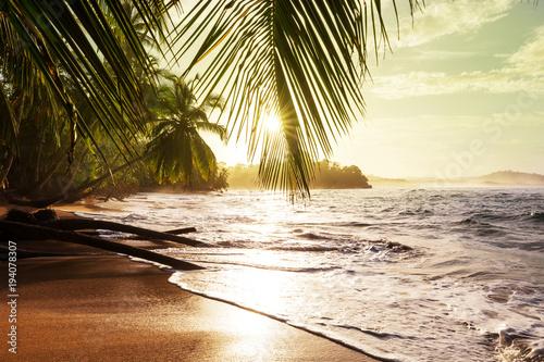 Fotografiet  Coast in Costa Rica