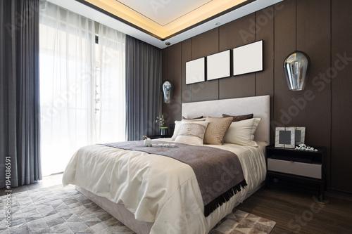 Fotografía  interior of modern bedroom