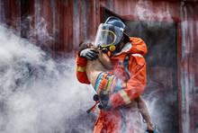 Emergency Fire Rescue Training...