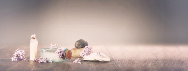 Fototapeta spa,fleur de lilas