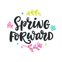 Spring Forward Quote. Modern C...