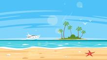 Background Of Sea Shore
