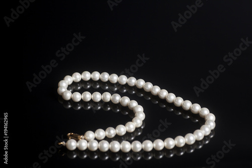 Pearl necklace accessory