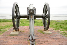 A Civil War Cannon Helps Prote...