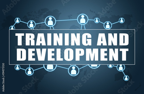 Fototapety, obrazy: Training and Development