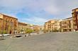 Plaza La Seo, Tarazona, Zaragoza, España