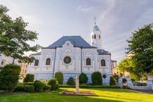 The Blue Church In Bratislava....
