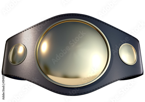 Fotografía  3D Championship  Belt