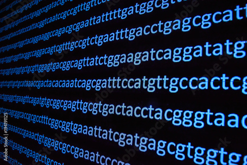 Photo Genome sequencing.