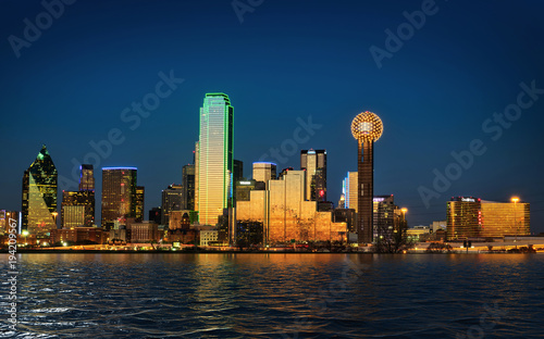 Obraz City of Dallas Texas - fototapety do salonu