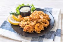 Fried Squids Or Octopus (calam...