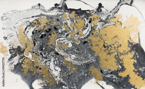 marmurowy-abstrakcjonistyczny-akrylowy-tlo-natura-czarna-marmurkowata-grafiki-tekstura