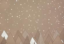 Hand Made Illustration Of Snow...
