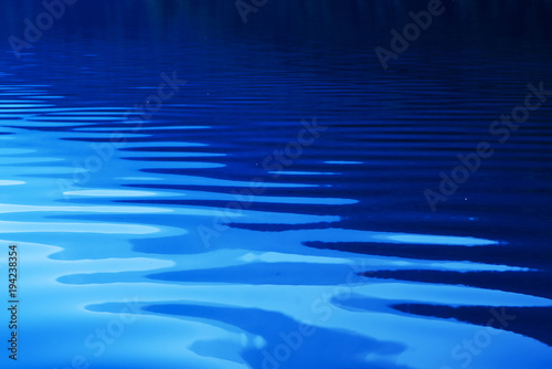 Blue rippled water as abstract background Canvas-taulu