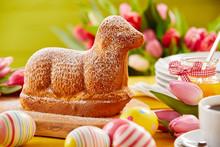 Freshly Baked Spring Lamb Shap...