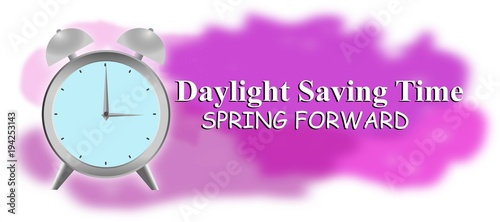 illustration of a Background for Daylight Saving Time
