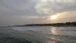 Panoramic view around Egypt sea pier, winter in Sharm-El-Sheikh