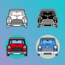 Car Illustrations - Minis