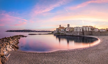 Panoramic View Of Antibes On S...