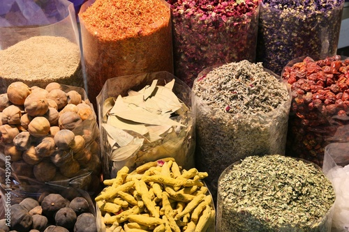 Fotobehang Midden Oosten Dubai Spice Market