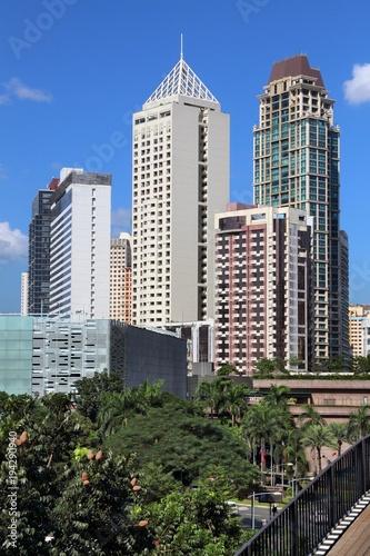 Fotografia Makati skyline, Manila
