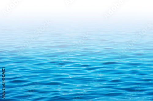 Foto op Plexiglas Zee / Oceaan Blue sea water background