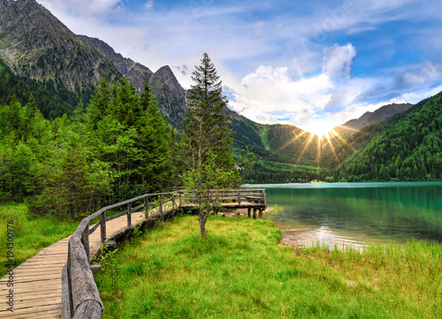 Foto  Antholzer See, Ahrntal, Südtirol