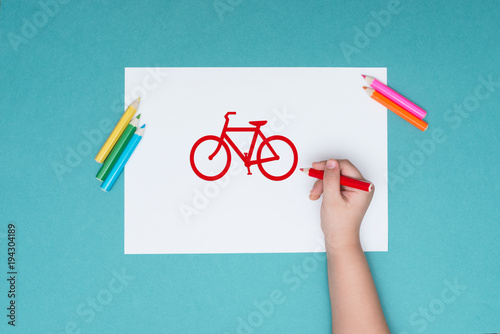 Foto op Plexiglas Fietsen the photograph on the subject of Cycling, leisure, healthy lifestyle