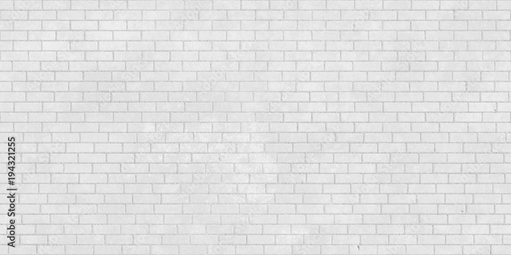 White Brick Wall Seamless Texture Wall Mural Wallpaper Murals Letoosen
