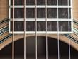 Gitarre Nahaufnahme Schallloch