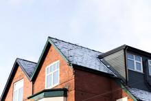 Houses With Snowfall British