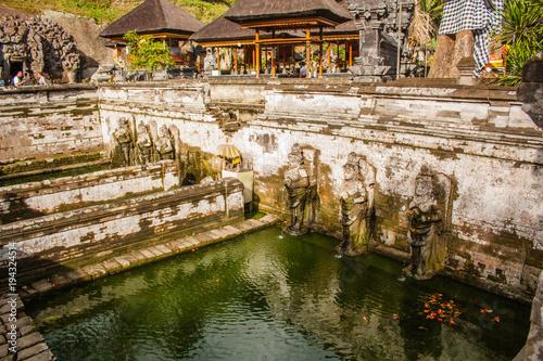 Foto op Plexiglas Indonesië Ubud, Bali/Indonesia, August 2016: Elephant cave