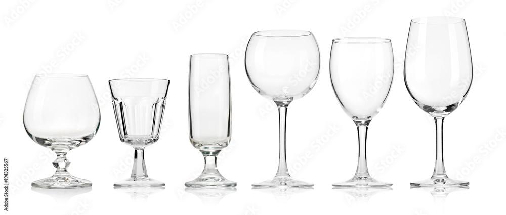 Fototapeta Empty glass