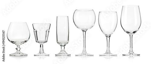 Fototapeta Empty glass obraz