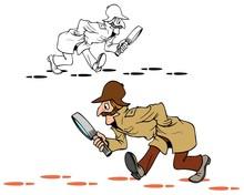 Sherlock Style Detective Follo...