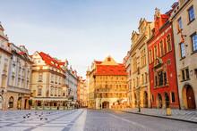 Old Town Square In Prague. Czech Republic